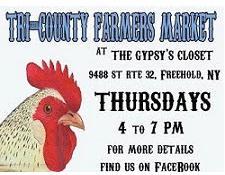 Tri-County Farmers' Market, Freehold NY